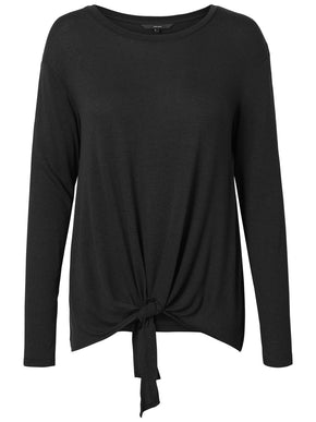 LONG SLEEVE T-SHIRT WITH A KNOT DETAIL