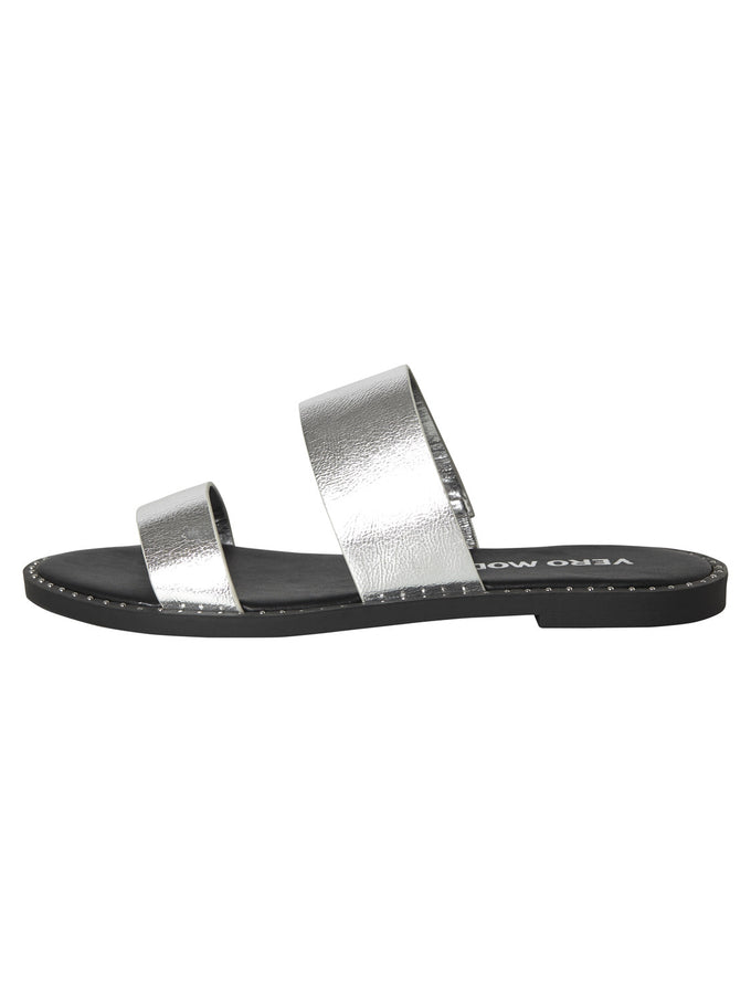 SANDALS WITH SILVER DETAILS SILVER