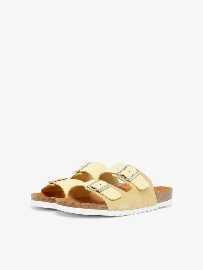 Carla leather sandals MELLOW YELLOW