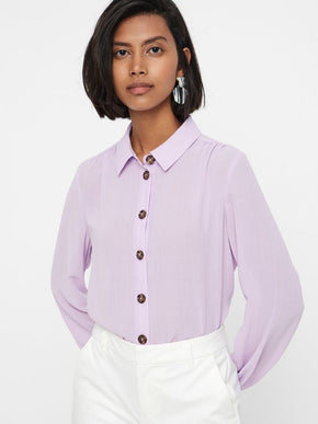 SHIRT WITH CUTE BUTTONS