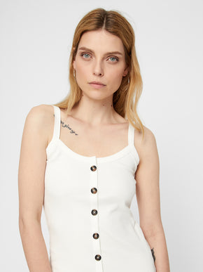 ORGANIC-COTTON RIBBED CAMI