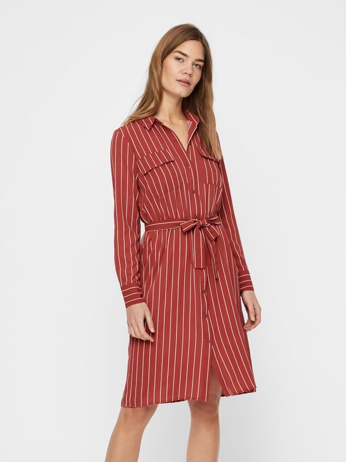 ea267ae8e POLYESTER-RECYCLED SHIRT-DRESS