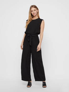 JUMPSUIT WITH AN OPEN BACK