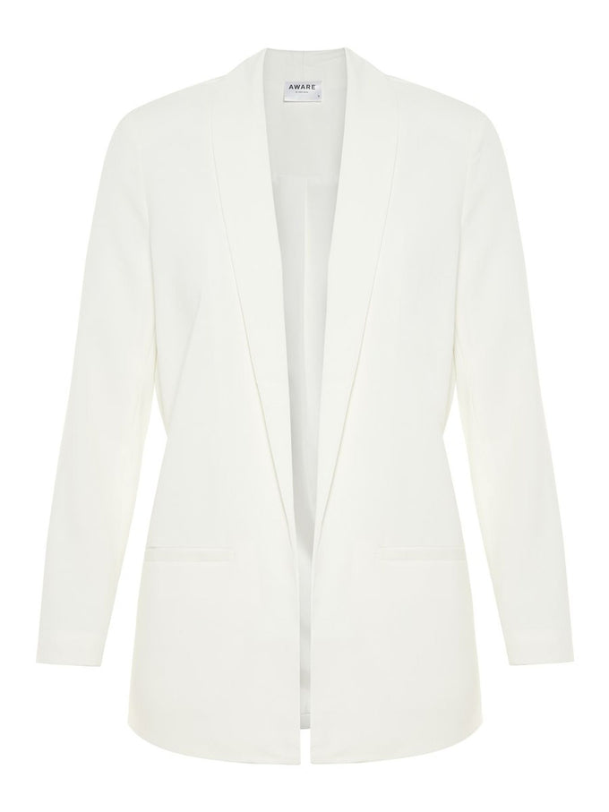 SOPHISTICATED 3/4 BLAZER SNOW WHITE