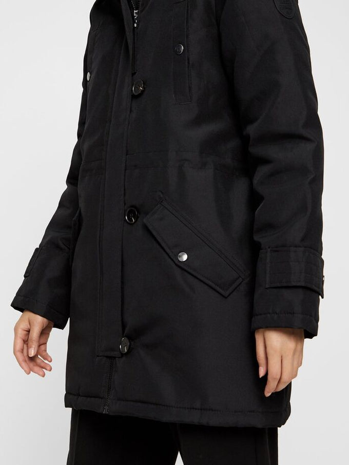EXCURSION 3/4 PARKA BLACK
