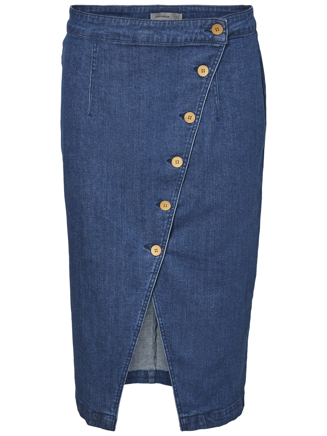 3e65e70ab5f8d BUTTON-UP DENIM SKIRT