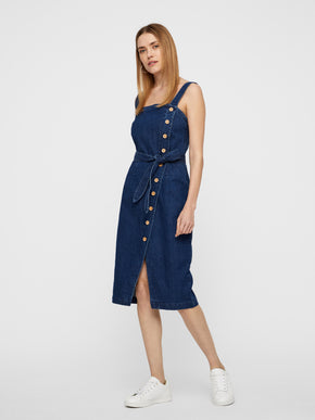 ROBE EN DENIM MOULANTE