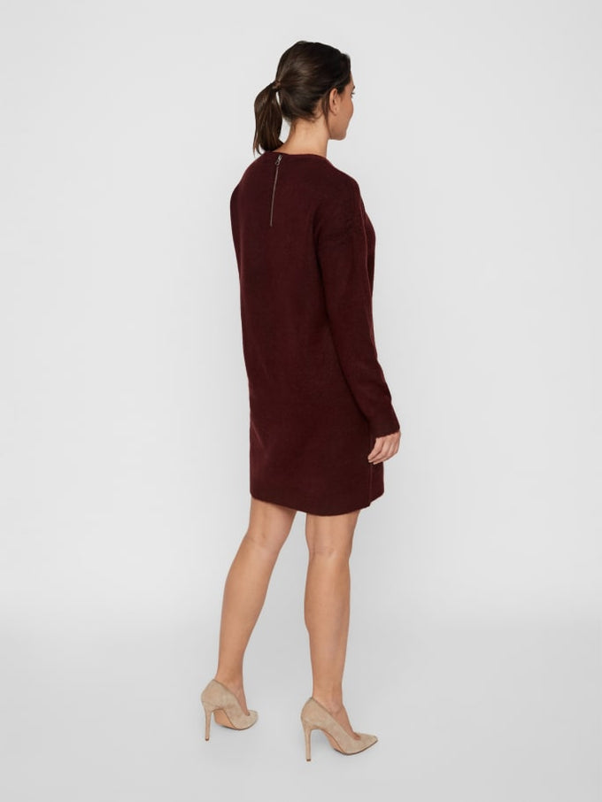 Sweater Dress With Back Zip PORT ROYALE