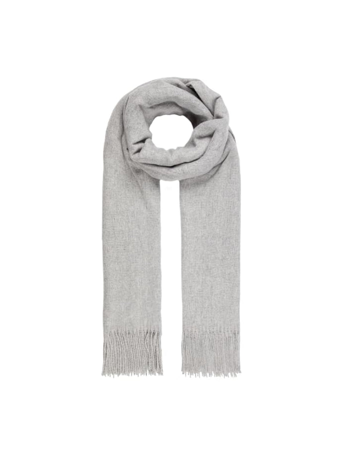 Basic Scarf LIGHT GREY MELANGE