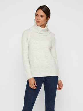 TURTLENECK SWEATER WITH ZIPPER DETAILS