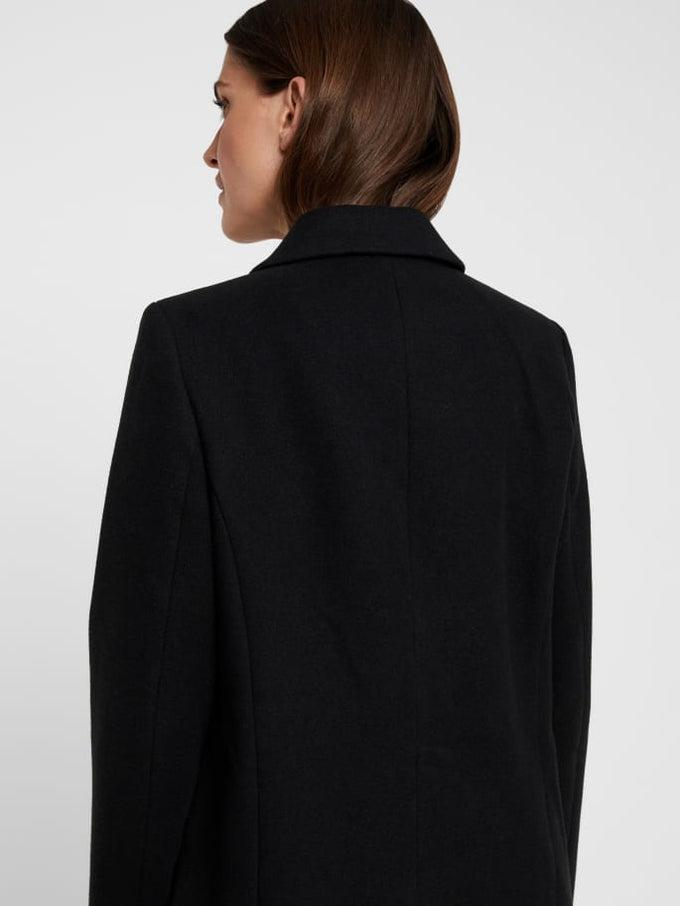 Cala Dress Coat BLACK