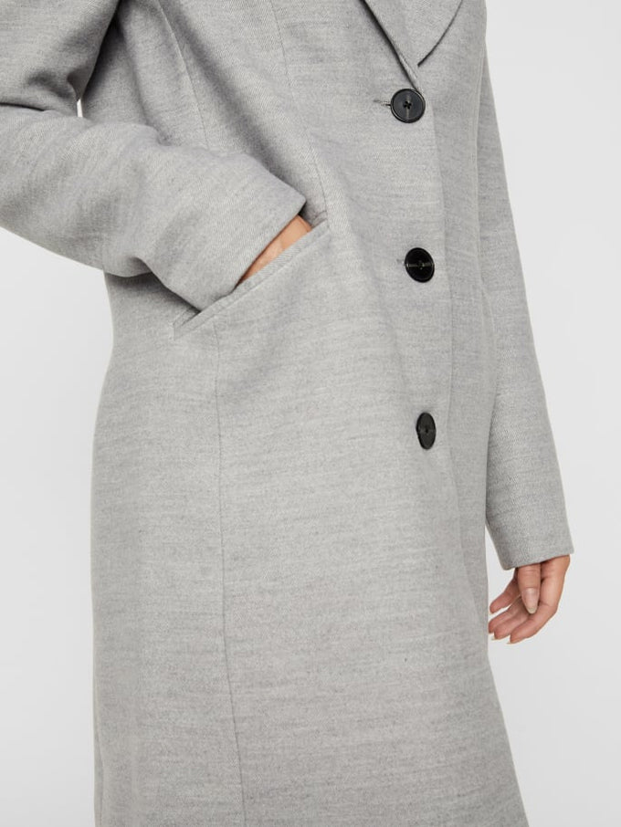Cala Dress Coat LIGHT GREY MELANGE