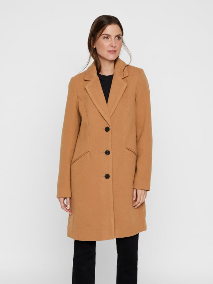 Cala Dress Coat TOBACCO BROWN