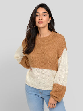 APOLLO LONG SLEEVE ROUND NECK SWEATER