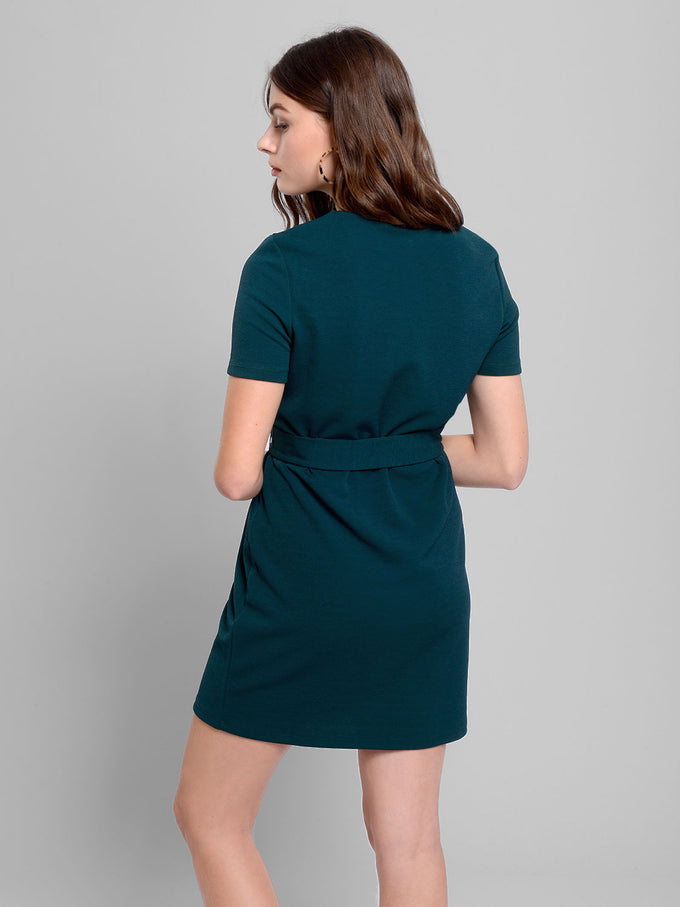 T-Shirt Dress With Belt PONDEROSA PINE
