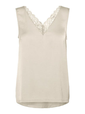 SANDRA LACE TOP