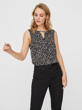 SINE SLEEVELESS TOP