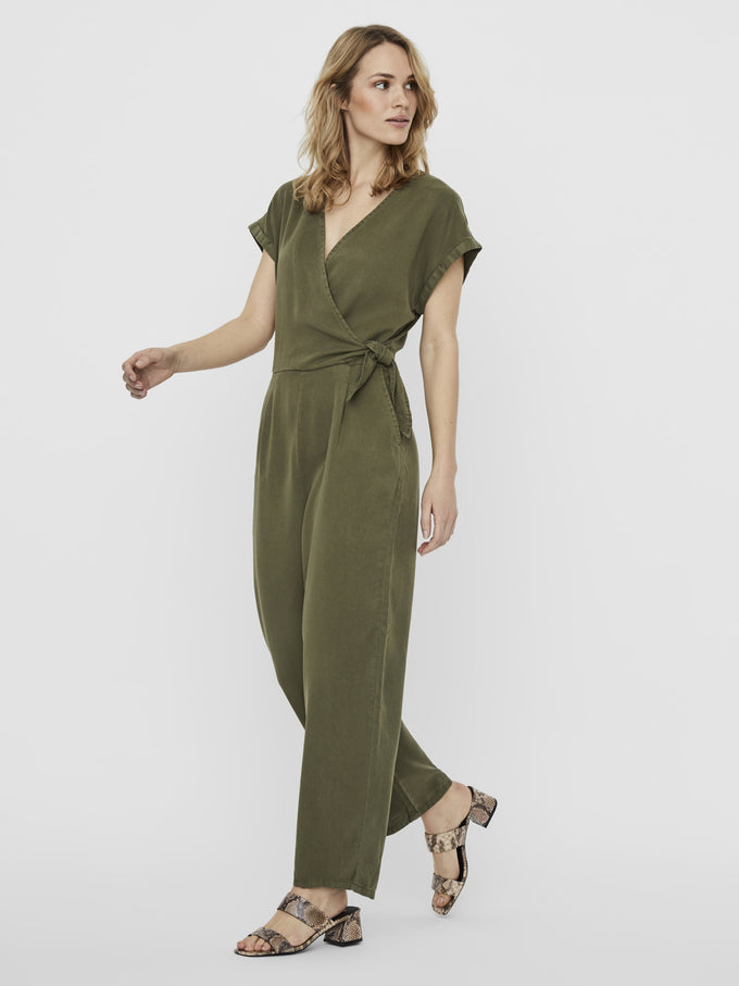 LAURA JUMPSUIT IVY GREEN