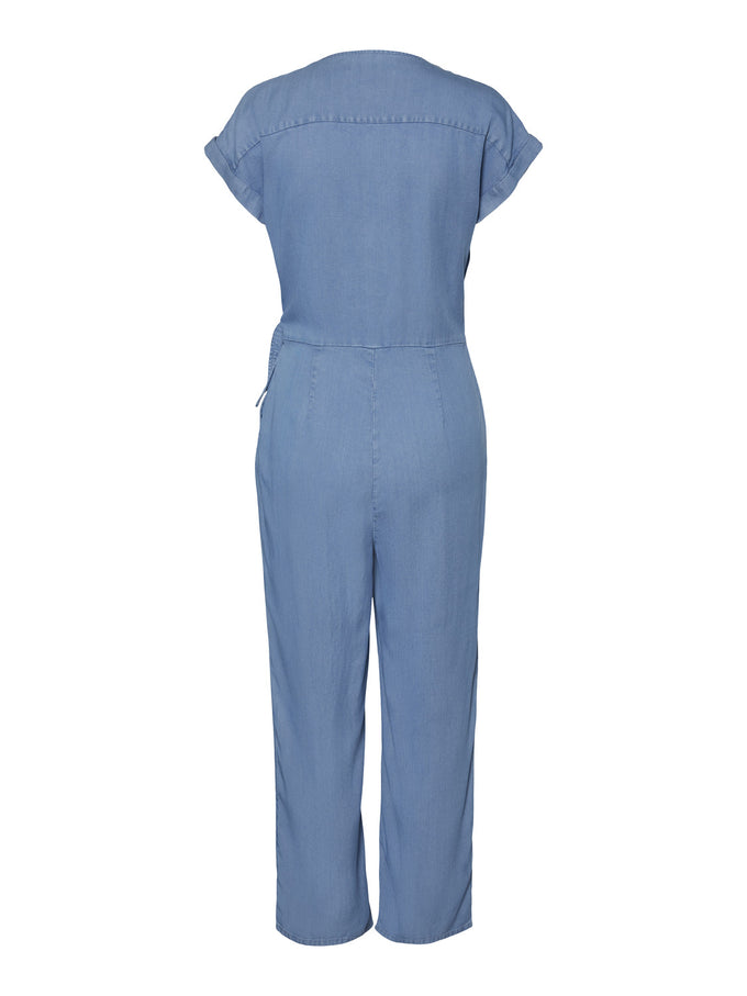 LAURA JUMPSUIT LIGHT BLUE DENIM