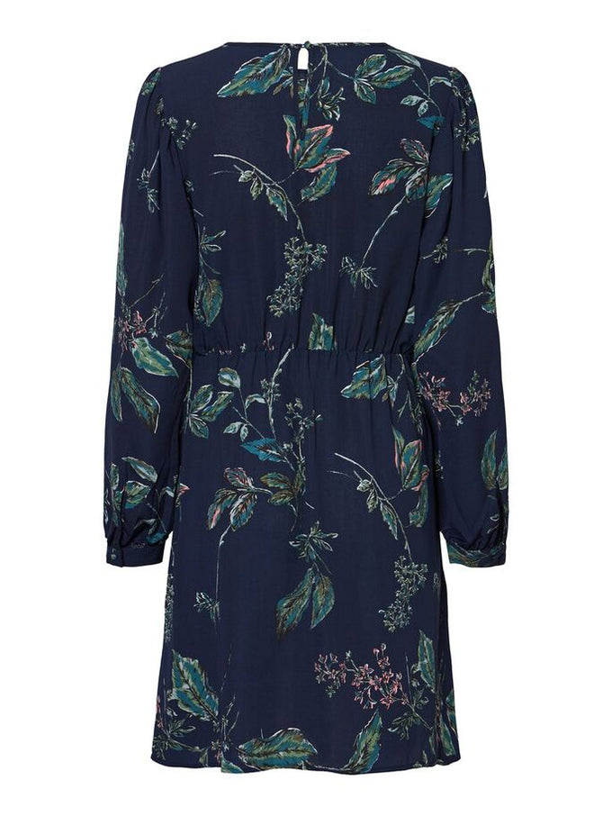 FLORAL SUE DRESS NIGHT SKY