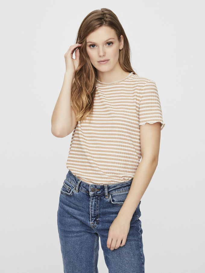 KIRI STRIPED t-shirt NOMAD