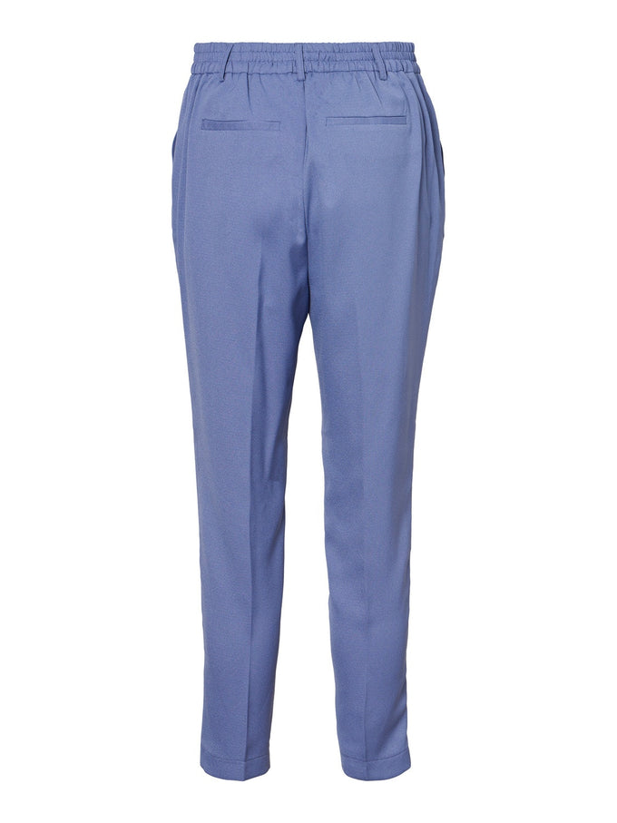GUDRUN ANKLE PANTS BLUE ICE