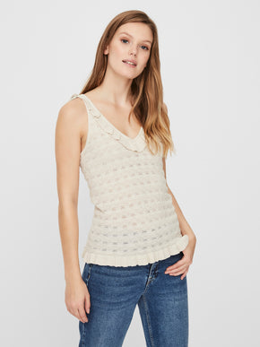 Camisole en tricot Mikia
