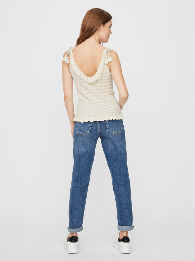 Mikia knit cami BIRCH