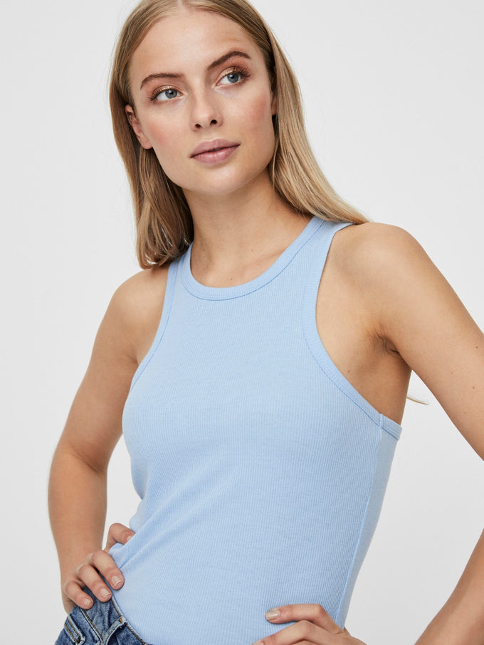 KAYA TANK TOP PLACID BLUE