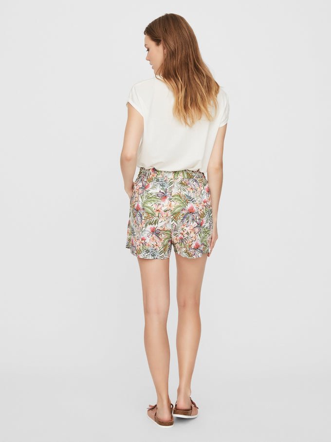 Simply easy shorts SNOW WHITE