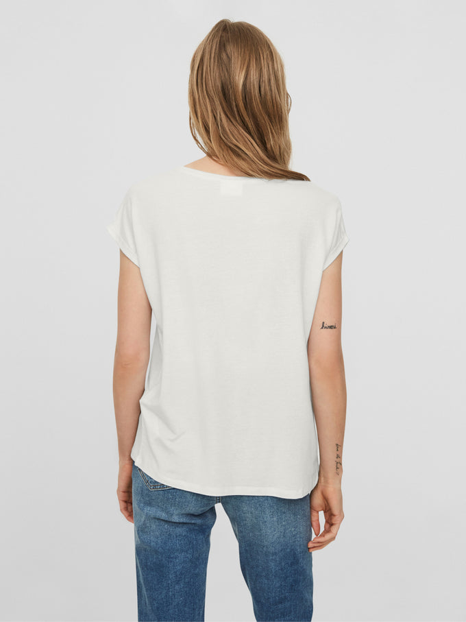 AWARE | T-shirt Ava BLANCHE NEIGE