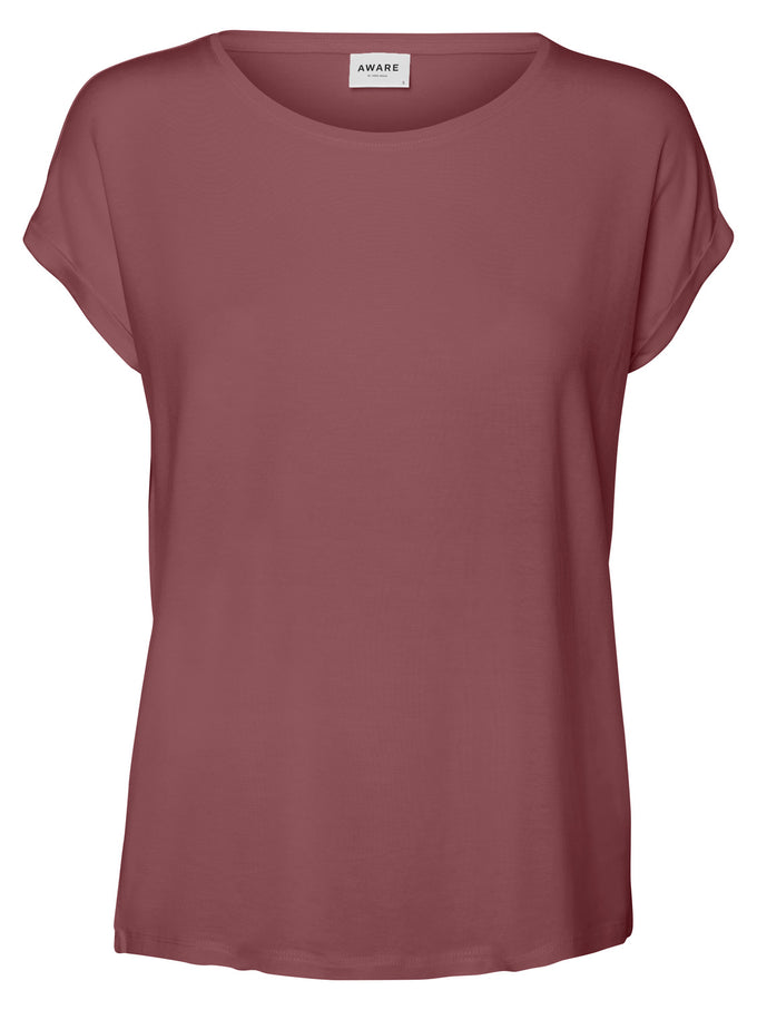 AWARE | Ava T-Shirt ROSE BROWN