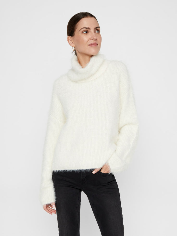 POILU LONG SLEEVE TURTLE NECK SWEATER PRISTINE