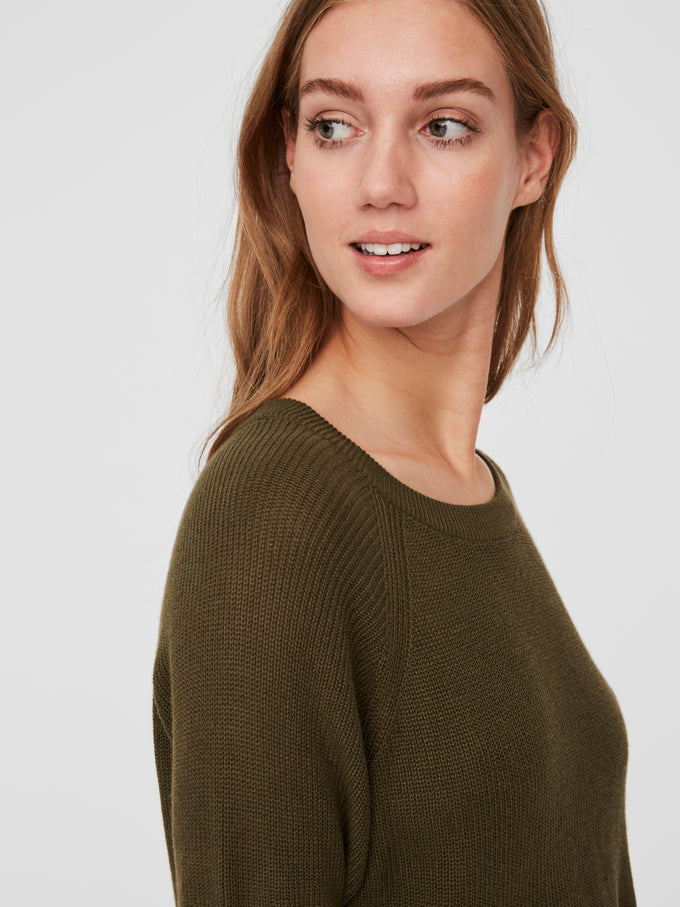 Lexsun light sweater IVY GREEN