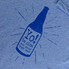 Drink craft beer | v-neck | blue