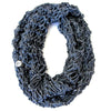All-Season Infinity Scarf | Washed Denim