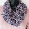 All-Season Infinity Scarf | Washed Violet