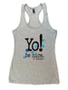 Workout tank | heather gray | animals