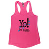 Racerback tank | hot pink | animals