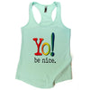 Yoga tank | mint | multi