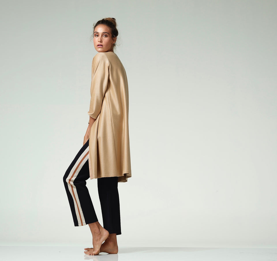 Camel Cashmere Duster