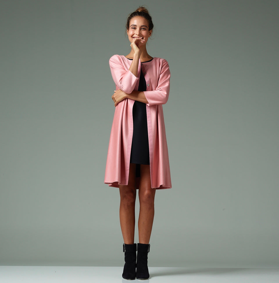 Rose Blush Duster Cashmere