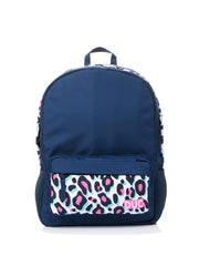 DUC Backpack - white leopard
