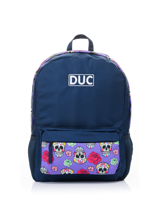 DUC Backpack - candy skull