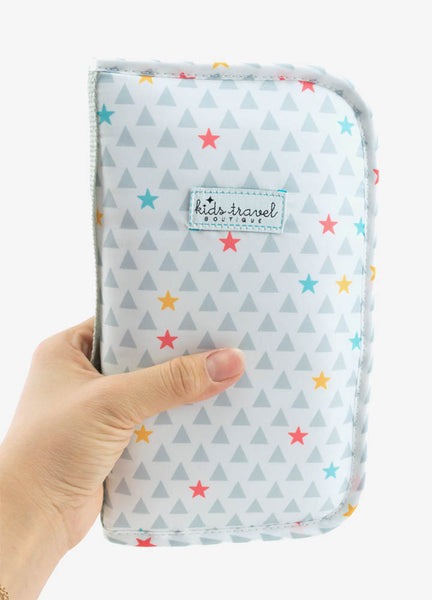 Kids Travel Boutique Passport Pouch.  Passport wallet. Travel Organizer. Family trip essential.  Family Travel Organizer