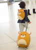 Kids Travel Boutique Bear backpack and trolley luggage set.  Children's travel set. Popular Korean Brand travel bags.