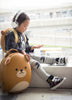 korean kids Bear backpack and luggage trolley lifestyle at airport | Kids Travel Boutique