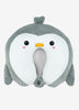Kids Travel Pillow Penguin by Kids Travel Boutique is double layered microbes U-shaped neck pillow sized for children up to age 6.