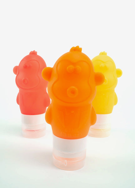 Monkey bottle set - SUNSHINE