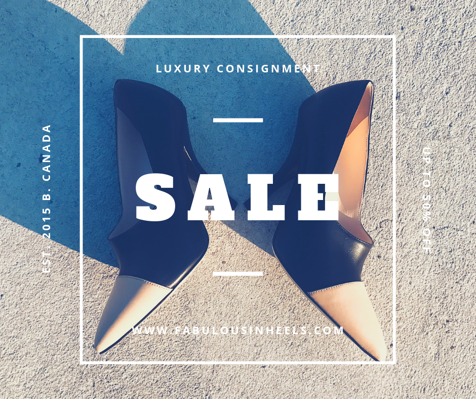 Sale on luxury designer brands